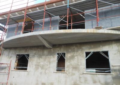 Ricostruzione edificio