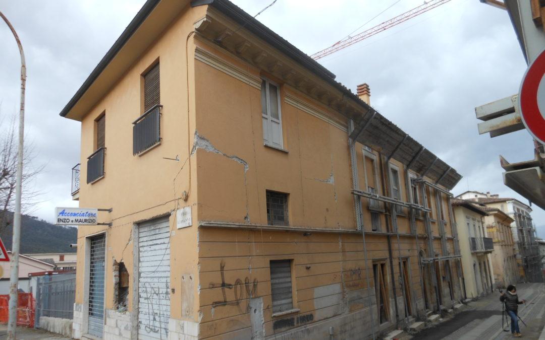 Centro Storico L'Aquila – Via Roma 86-94 – Sisma 2009