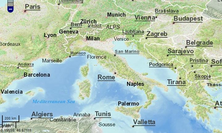 Cartografia catastale, al via il servizio di consultazione dinamica